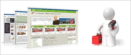 An instant web site installer